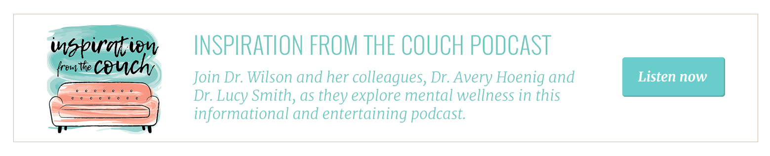 Inspiration from the Couch podcast